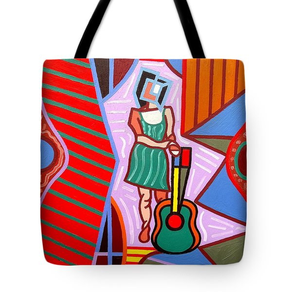 This Guitar Is More Than An Instrument Tote Bag by Patrick J Murphy