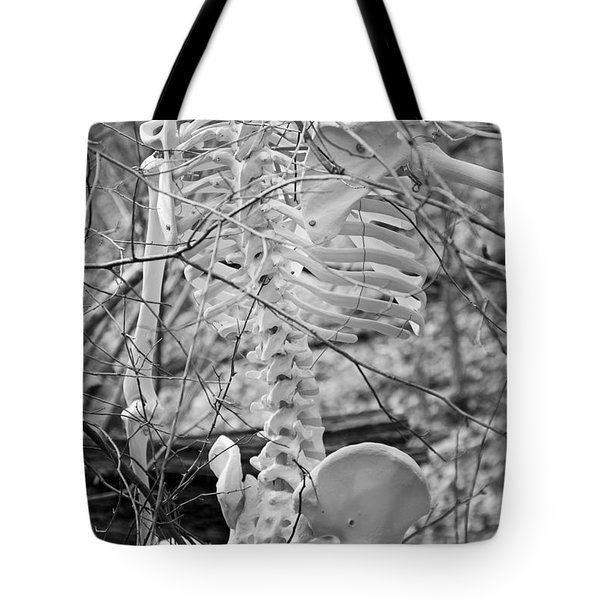 This is Your Spinal Notice Tote Bag by Betsy C  Knapp