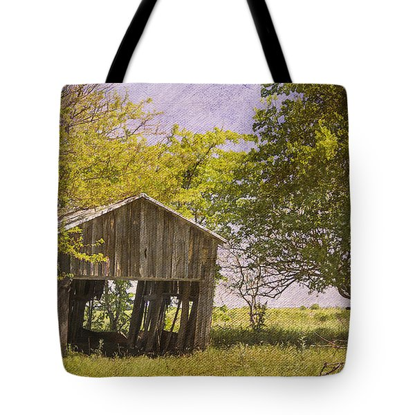 This Old Barn Tote Bag by Joan Carroll