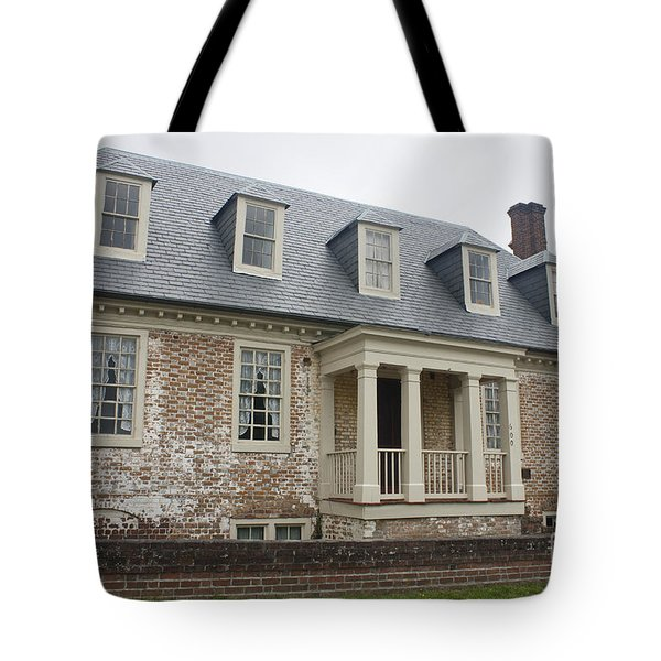 Thomas Sessions House Yorktown Tote Bag by Teresa Mucha
