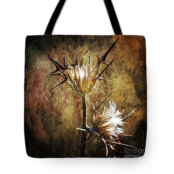 thorns Tote Bag by Stylianos Kleanthous
