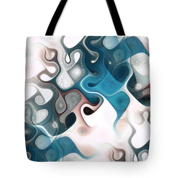 Thought Process Tote Bag by Anastasiya Malakhova