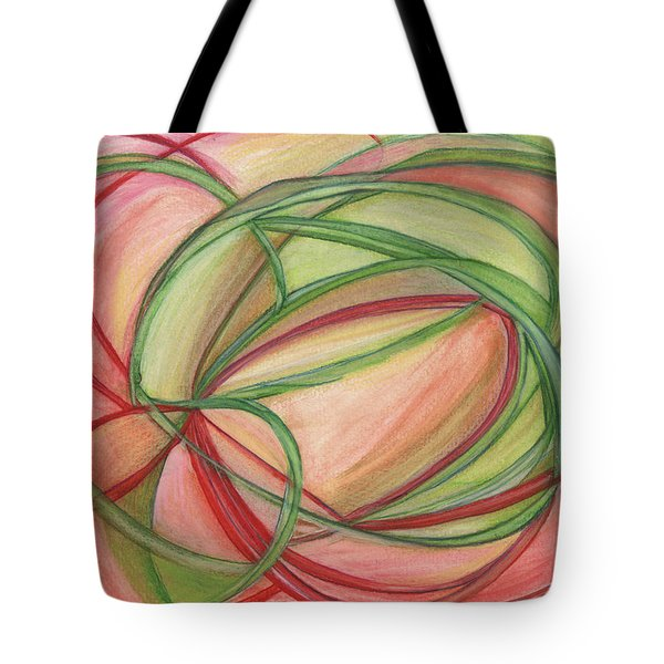 Thoughts Create Tote Bag by Kelly K H B