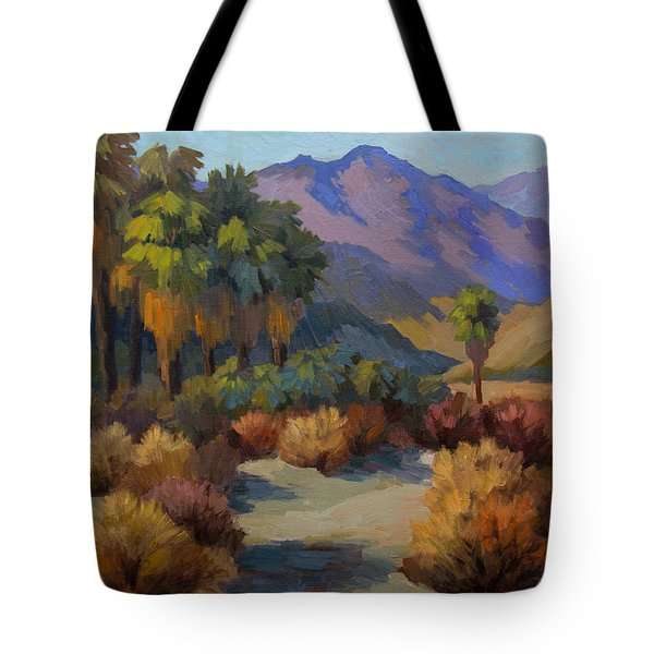 Thousand Palms Tote Bag by Diane McClary