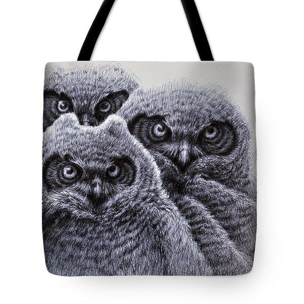 Three Amigos Tote Bag by Rick Hansen