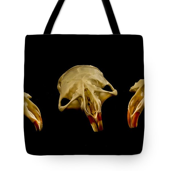 Three Blind Mice Tote Bag by Jean Noren