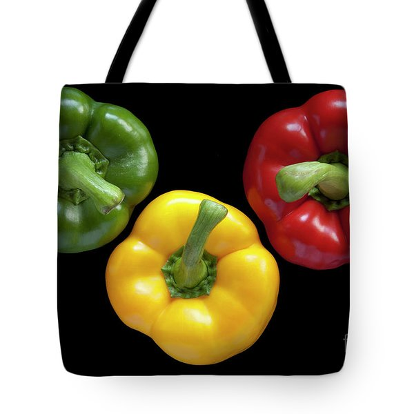 Three Colors Tote Bag by Heiko Koehrer-Wagner