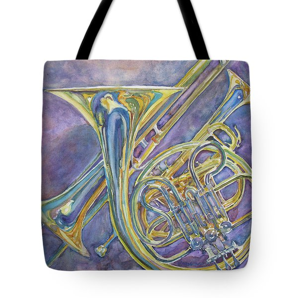 Three Horns Tote Bag by Jenny Armitage