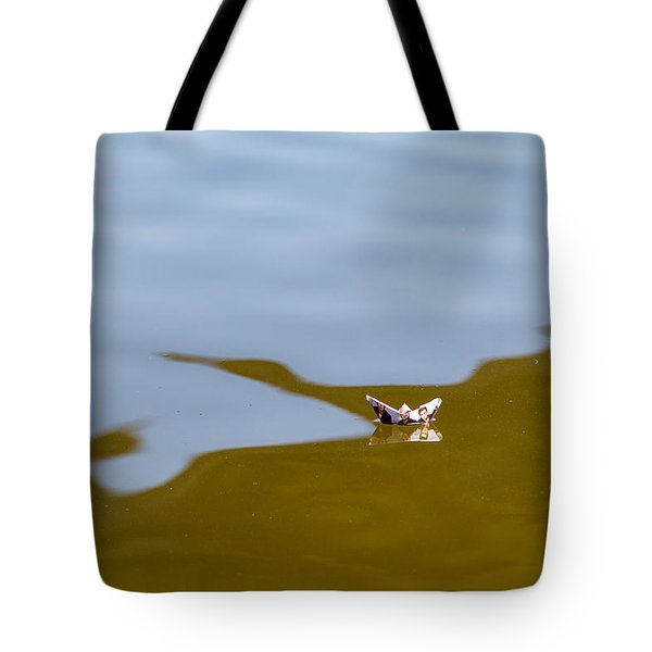 Three Men In A Boat - Featured 3 Tote Bag by Alexander Senin