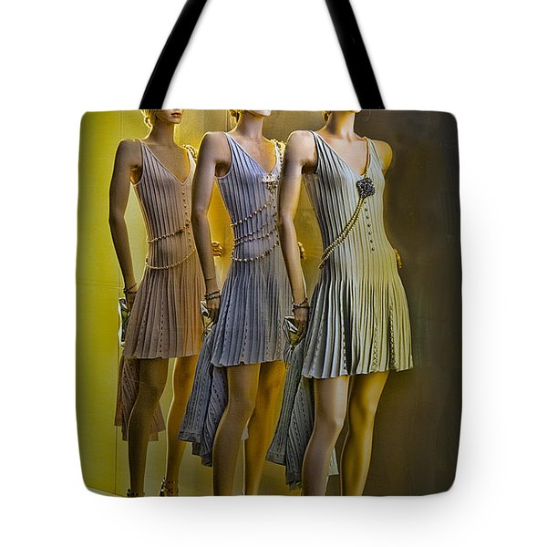 Three Of A Kind Tote Bag by Chuck Staley