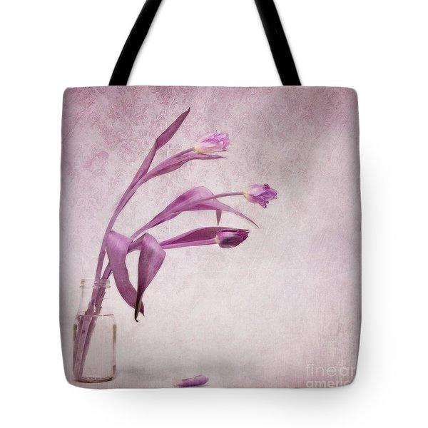 Three Of Us Tote Bag by Priska Wettstein