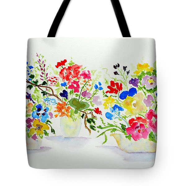 Three Pots Tote Bag by Jamie Frier