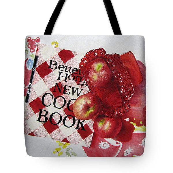 Three To Get Ready Tote Bag by Karlyn Holloway