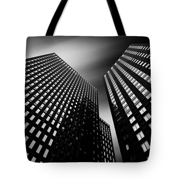Three Towers Tote Bag by Dave Bowman
