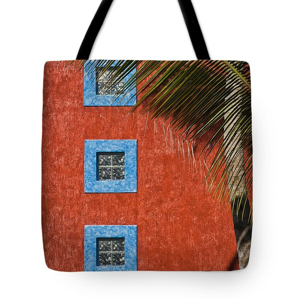 Three Windows Tote Bag by Adam Romanowicz