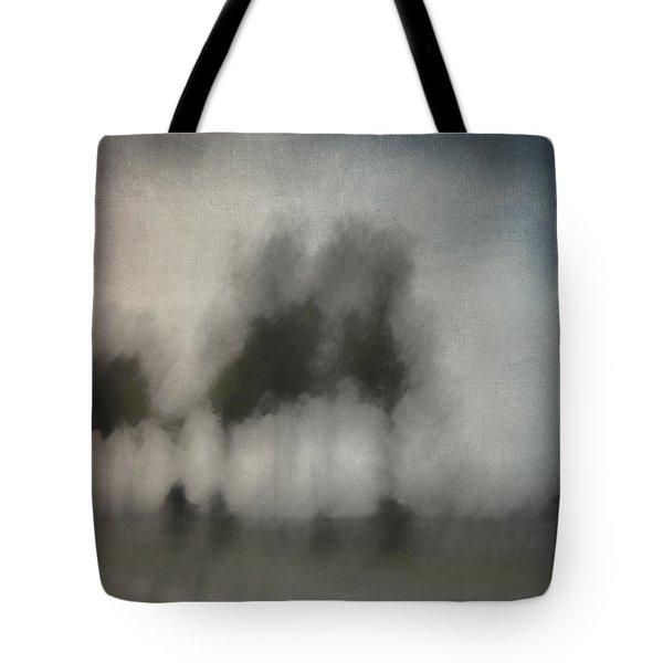Through A Train Window Tote Bag by Carol Leigh