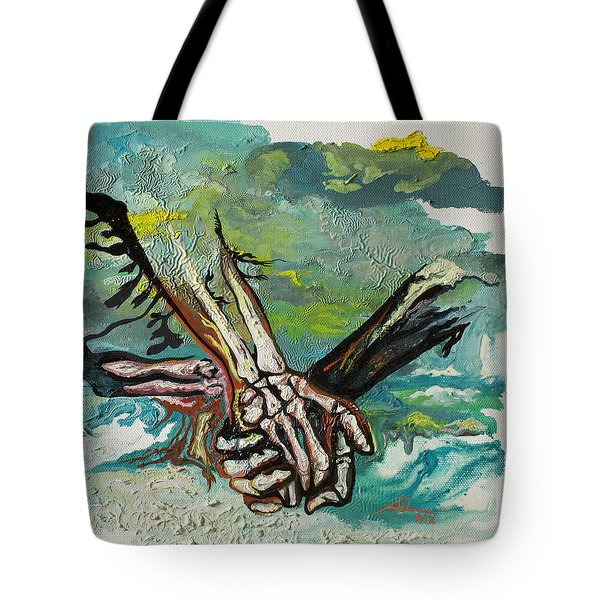 Through Storms Tote Bag by Joseph Demaree