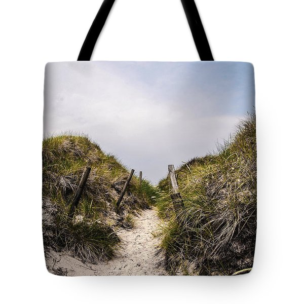Through The Dunes Tote Bag by Hannes Cmarits