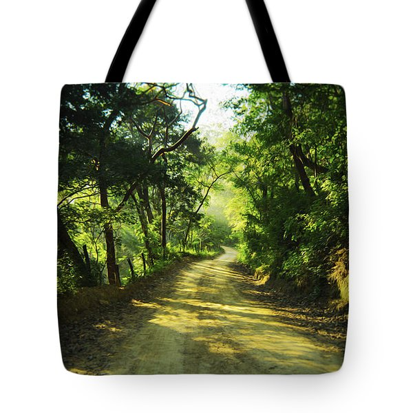 Through The Jungle Tote Bag by Aged Pixel