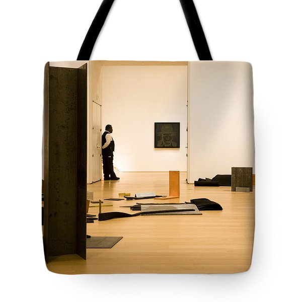 Through The Open Door Tote Bag by Joanna Madloch