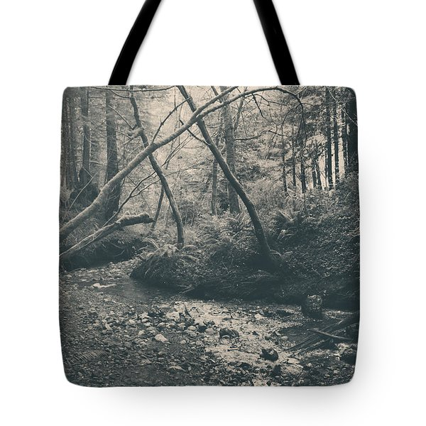Through The Woods Tote Bag by Laurie Search