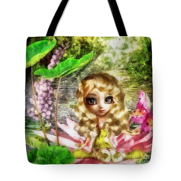 Thumbelina Tote Bag by Mo T