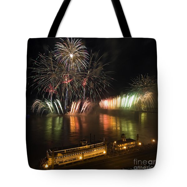 Thunder Over Louisville - D008432 Tote Bag by Daniel Dempster