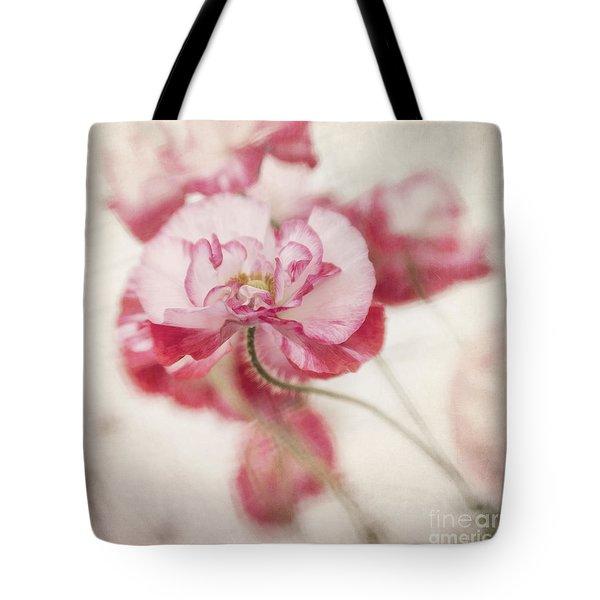 tickle me pink Tote Bag by Priska Wettstein