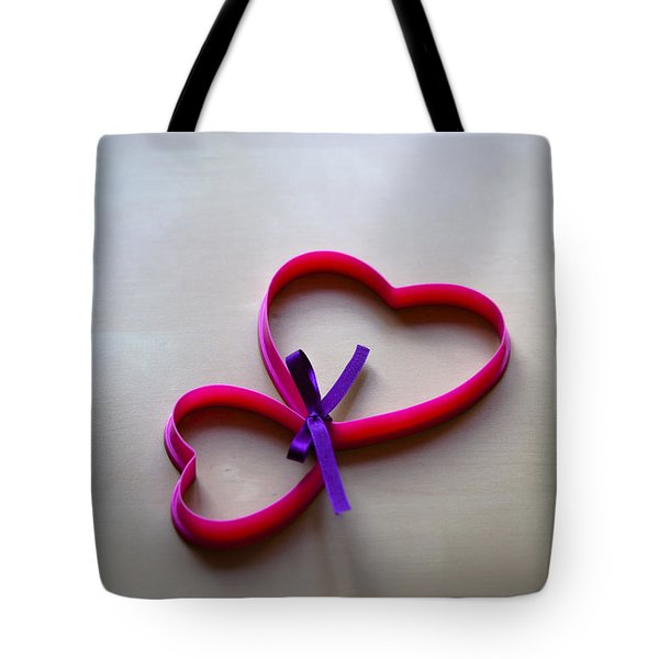 Tied To You Tote Bag by Jan Bickerton