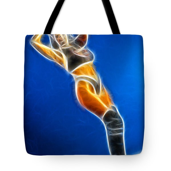 Tiffany Superman 1 Fractal Tote Bag by Gary Gingrich Galleries