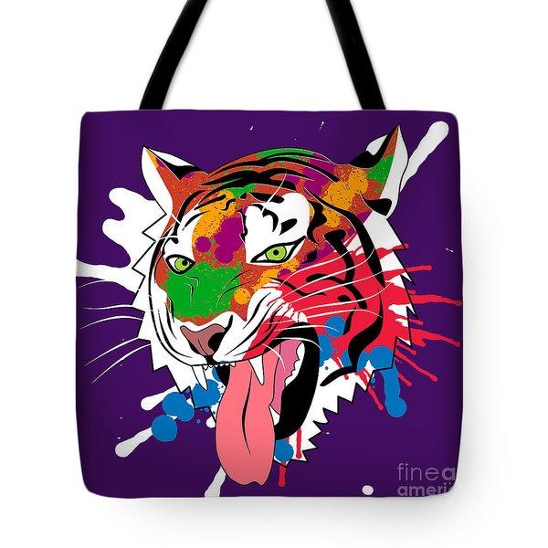Tiger 11 Tote Bag by Mark Ashkenazi