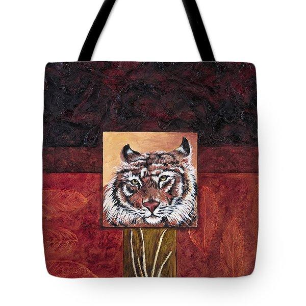 Tiger 2 Tote Bag by Darice Machel McGuire