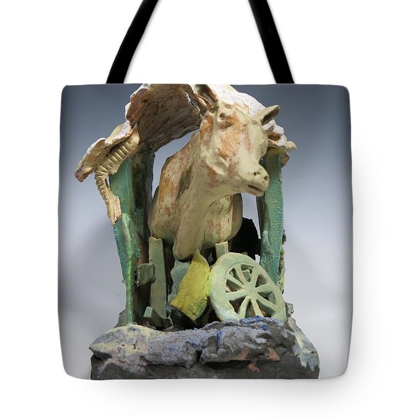 Tight Squeeze Tote Bag by Jean Macaluso