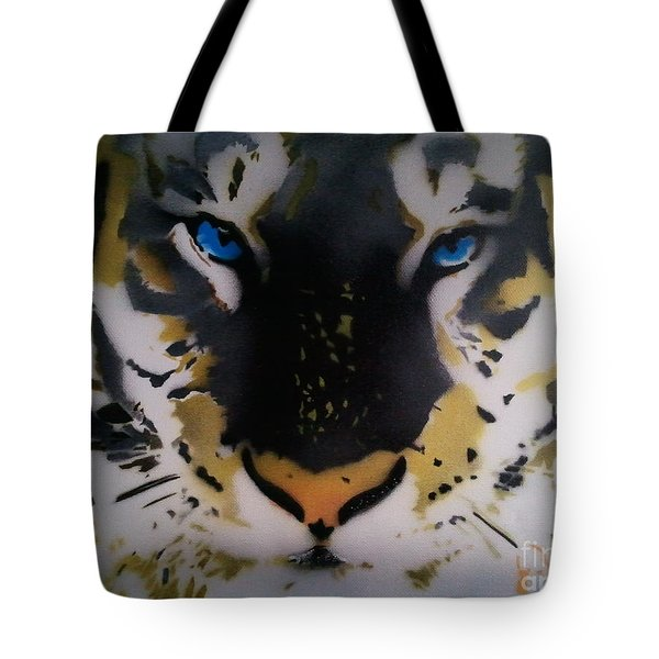 Tigrrr 2 Tote Bag by Barry Boom