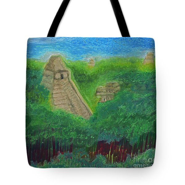 Tikal 2 By Jrr Tote Bag by First Star Art