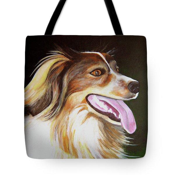 Tillie Tote Bag by Janice Dunbar