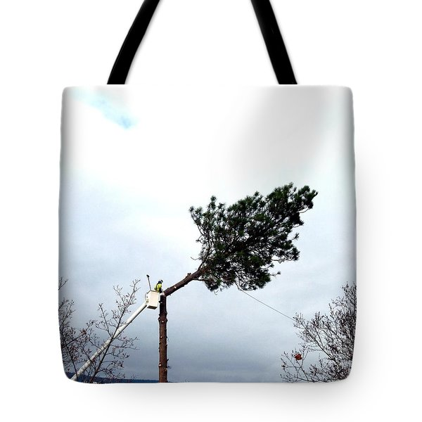 Timber Tote Bag by Will Borden