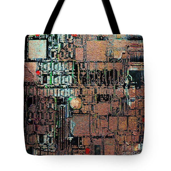 Time For A Motherboard Upgrade 20130716 square Tote Bag by Wingsdomain Art and Photography