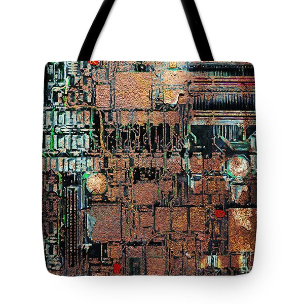 Time For A Motherboard Upgrade 20130716 Tote Bag by Wingsdomain Art and Photography