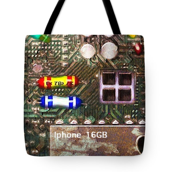Time For An Iphone Upgrade 20130716 Tote Bag by Wingsdomain Art and Photography