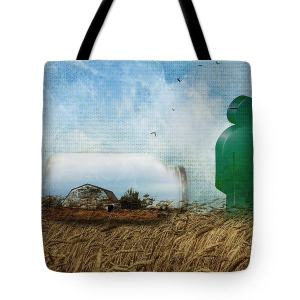 Time In A Bottle Tote Bag by Terry Fleckney