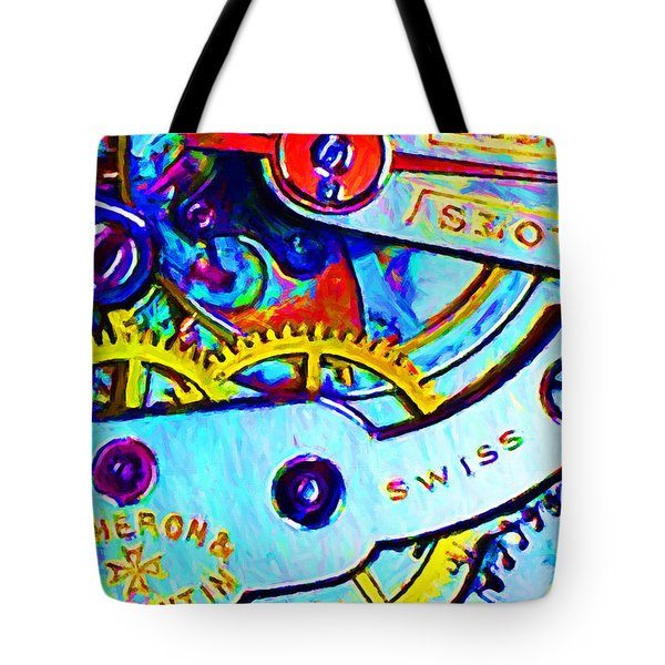 Time In Abstract 20130605 Tote Bag by Wingsdomain Art and Photography