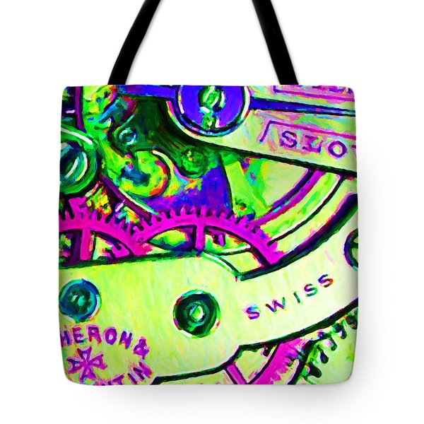 Time In Abstract 20130605m108 Tote Bag by Wingsdomain Art and Photography