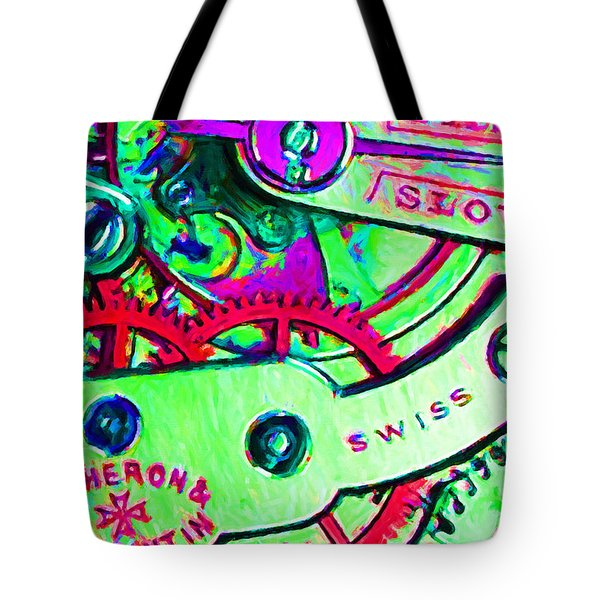 Time In Abstract 20130605m72 Tote Bag by Wingsdomain Art and Photography