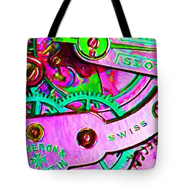 Time In Abstract 20130605p108 Tote Bag by Wingsdomain Art and Photography