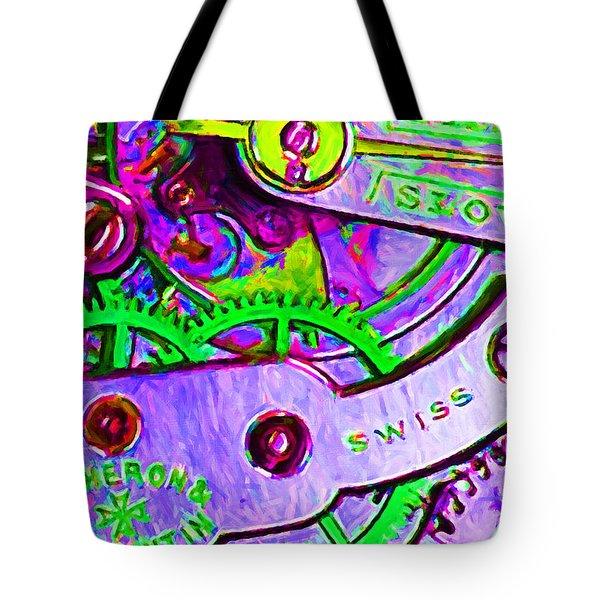 Time In Abstract 20130605p72 Tote Bag by Wingsdomain Art and Photography