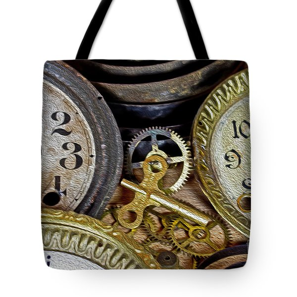 Time Long Gone Tote Bag by Tom Gari Gallery-Three-Photography