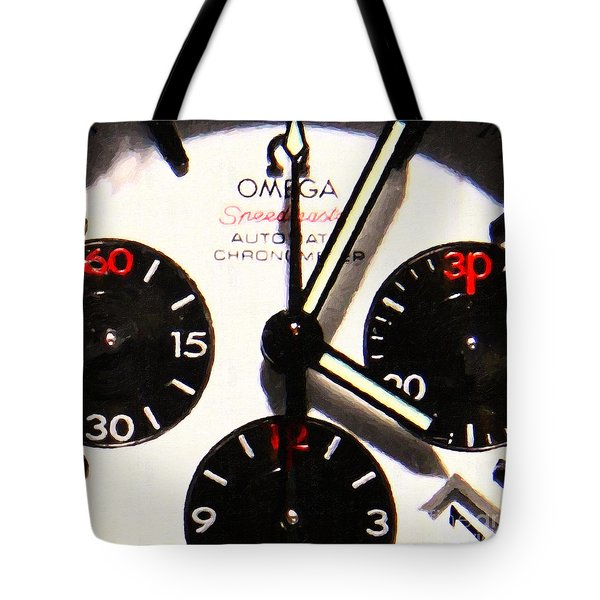 Time Piece - 5D20658 Tote Bag by Wingsdomain Art and Photography
