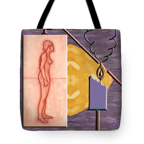 Time Running Out Tote Bag by Patrick J Murphy