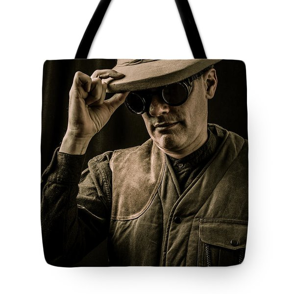 Time Traveler Tote Bag by Edward Fielding